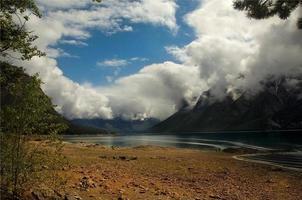 Lake Agnes. Canada foto