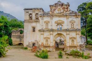 gevel van de voormalige kerk van el carmen foto