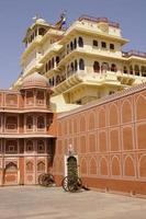 de thuisbasis van de maharadja van Jaipur foto