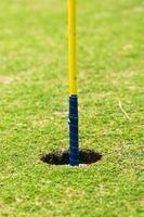 golf hole foto