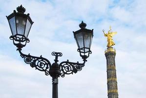 Berlijnse overwinningskolom foto