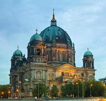 kathedraal van berlijn (berliner dom) foto