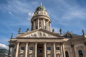 buitenkant van de Duitse kathedraal in Berlijn, Duitsland foto