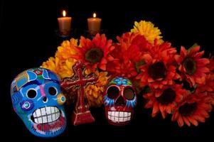 dia de los muertos (dag van de doden) alter foto