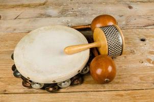 klein percussie-instrument foto