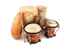 latijnse ritme-instrumenten foto