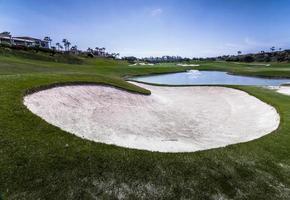 golfbaan foto
