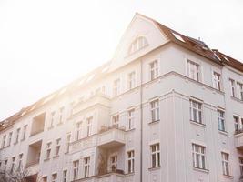 mooi herenhuis op berlin prenzlauer berg foto