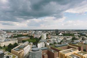 Berlijnse skyline van bovenaf foto