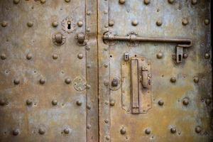 ijzeren deur foto