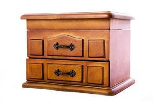 houten kistje voor sieraden foto