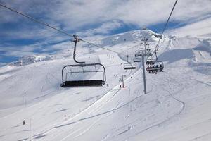 skiën foto