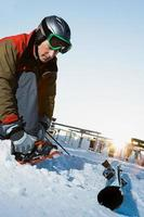 skiboarder foto