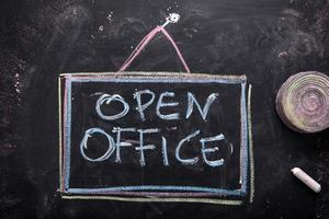 open kantoor foto