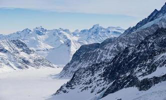 Zwitserse berg, Jungfrau, Zwitserland, skigebied foto