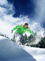 sneeuw tijd rijden foto
