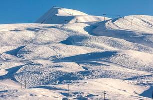 Gudauri skigebied in Georgië foto