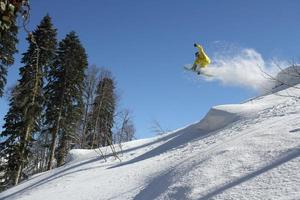 snowboard freerider foto