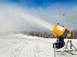 sneeuwmaker foto