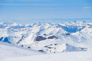 Zwitserse berg, Jungfrau, Zwitserland, skigebied