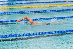 zwemmen foto