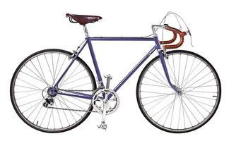 fiets, vintage fiets foto