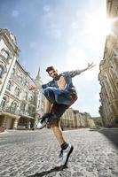 straat danser