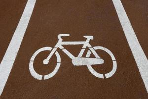 fietsen straat signaal foto