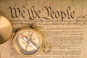 grondwet van de Verenigde Staten foto