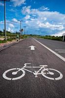 fietspad foto