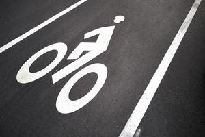 fietspad harvard cambridge foto