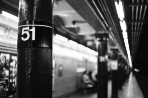 metro van New York foto