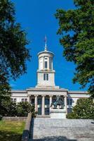 het Tennessee State Capitol Building in het centrum van Nashville. foto
