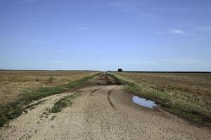 Oklahoma onverharde weg foto
