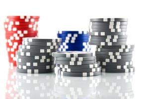 Poker fiches foto