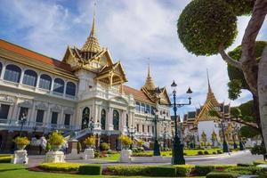 het grote paleis, bangkok, thailand foto