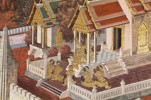 muurschilderingen foto