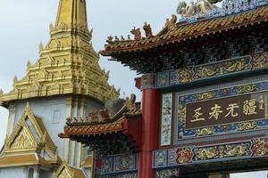 Thailand Bangkok China stad foto