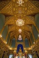 kasteelzaal, het grote paleis, bangkok, thailand foto