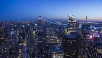 New York nacht foto