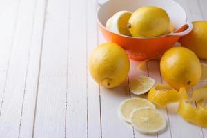 verse citroenen foto
