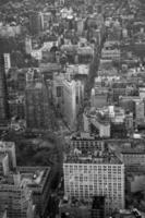 skyline van new york - flatiron gebouw foto