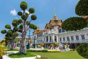 groot paleis in bangkok, thailand foto