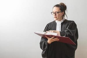 het reciteren van de wet foto