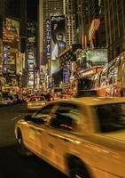 New York slaapt nooit foto