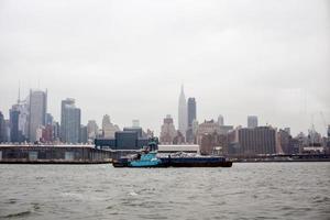 het centrum van Manhattan foto