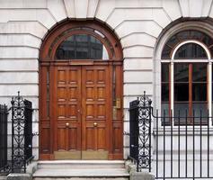 elegante voordeur foto