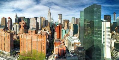 Manhattan van VN-gebouw foto