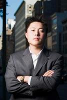 serieuze zakenman foto