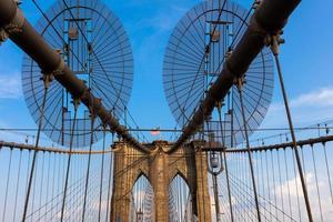 de Brooklyn Bridge foto